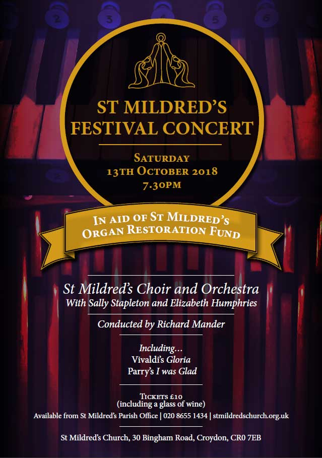 Festival Concert Flyer