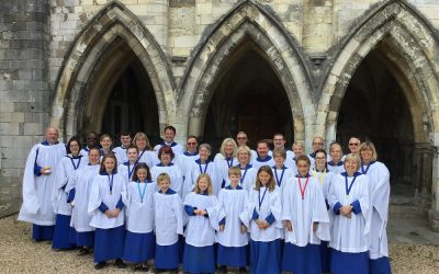 The Choir at Guildford Cathedral July 2020!