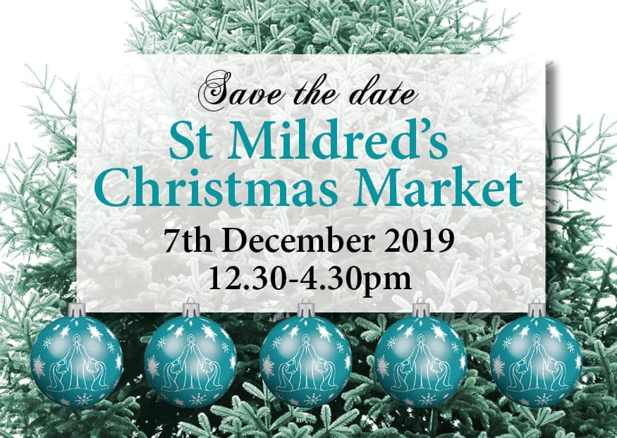 Coming Soon to a church near you – Our Christmas market!
