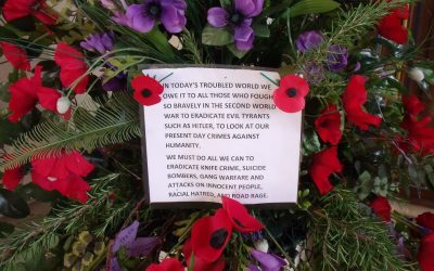 Remembrance-tide at St Mildred's 2019