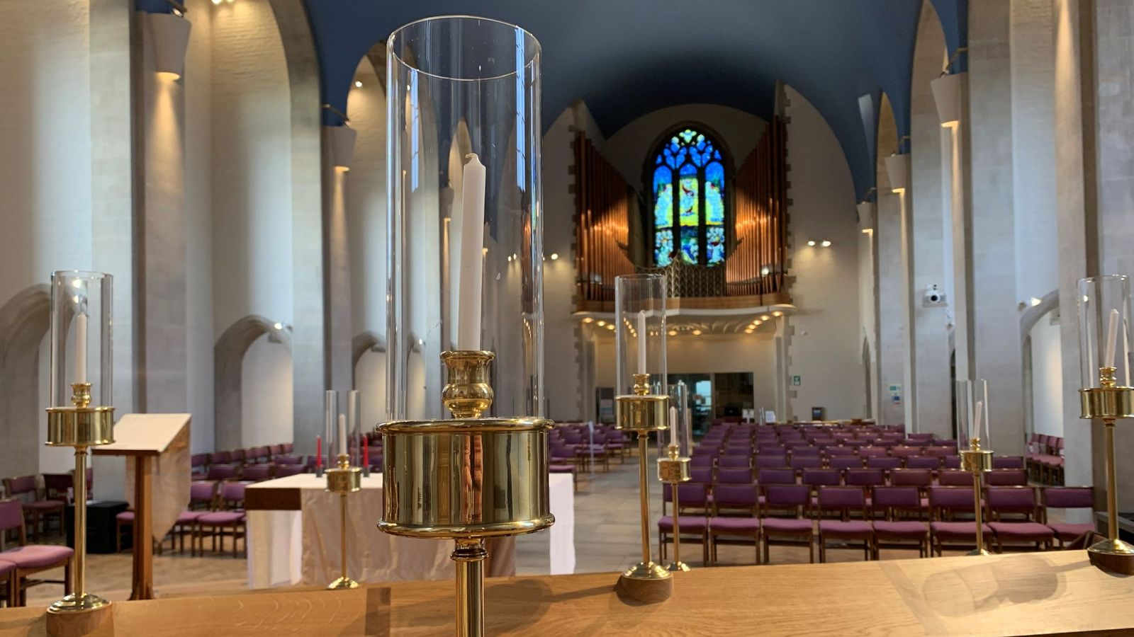The new Choir stalls gallery