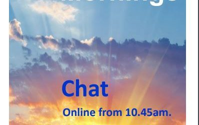 Sunday mornings – chat online