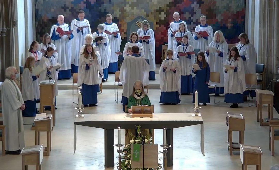 the choir at Chelmsford